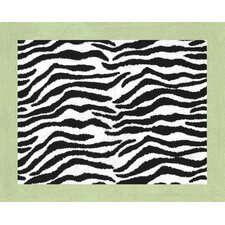 Zebra Lime Collection Floor Rug