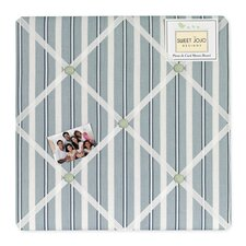 Argyle Green Blue Collection Memo Board