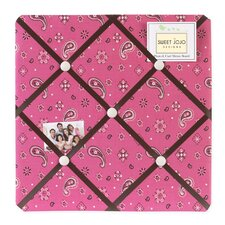 Cowgirl Collection Memo Board  - Bandana Print
