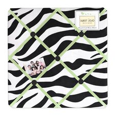 Zebra Lime Collection Memo Board