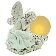 Sleeping Solar Fairy Statue
