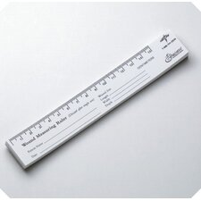 Wound Measuring Paper Ruler