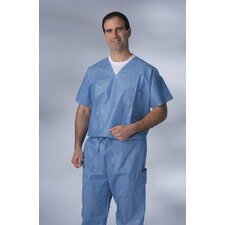 Disposable Scrub Pant in Blue