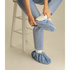 Non-Skid Polypropylene Shoe Cover in Blue