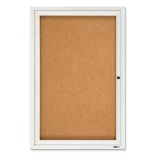 Enclosed Outdoor Bulletin Board