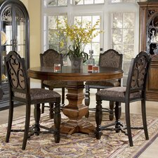 Marbella 5 Piece Counter Height Dining Set