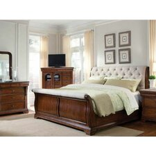Elegant  A R T Margaux Sleigh Bedroom Collection