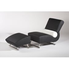 Deville Chair and Ottoman