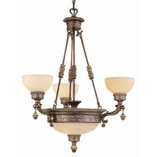 Mediterranean 6 Light Chandelier