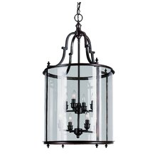 8 Light Foyer Pendant
