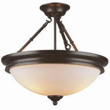 Olde World Semi Flush Mount