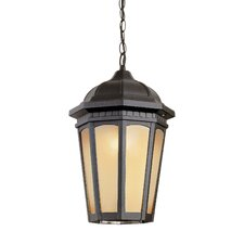 Tea Chateau 1 Light Outdoor Hanging Lantern