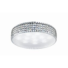 15 Light Flush Mount