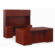 "Revival 29"" x 72"" Full Length Pedestal Executive Desk"