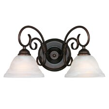 Homestead Ridge 2 Light Bath Vanity Light