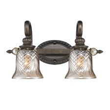 Alston Place 2 Light Bath Vanity Light