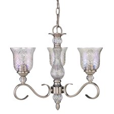 Alston Place 3 Light Mini Crystal Chandelier