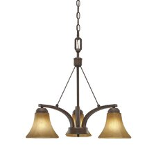 Accurian 3 Light Nook Chandelier