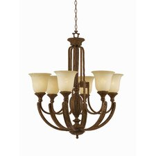 Ambassador 6 Light Chandelier