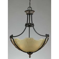 Corinthian 3 Light Inverted Pendant