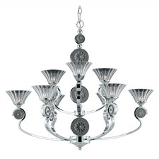 Medallion 9 Light Chandelier