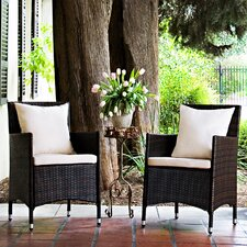 Napa Estate Dining Arm Chair with Cushion (Set of 2)