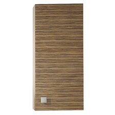 Knox Wall Cabinet in Zebra Wood