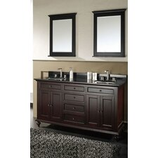 "Merlot 60"" Bathroom Vanity Set"