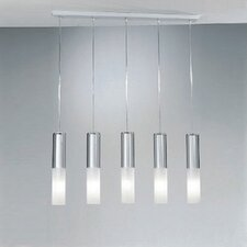 Jazz Five Light Pendant Holder in White