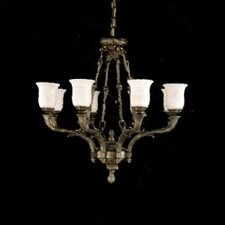 Toledo Traditional Chandelier in Aged Bronze
