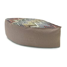 Ozan Leaf Shaped Pouf Ottoman