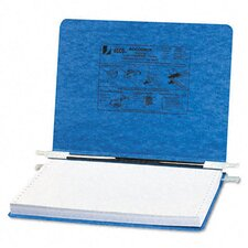 Pressboard Hanging Data Binder, 12 x 8-1/2 Unburst Sheets