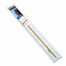Westcott Acrylic Data Highlight Reading Ruler with Tinted Guide