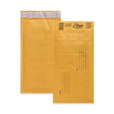 "Bubble Mailer,w/Peel and Seal,No. 00,5""x10"",25/CT,Kraft"