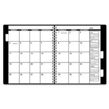"Yearly Refill Calendar, 2016, 2PPM, 22HP, 9""x11"", White/Cream, 2013"
