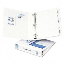 "Extra-Wide Ezd Reference View Binder, 1-1/2"" Capacity"