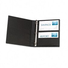 "Durable Slant Ring Reference Binder with Label Holder, 1"" Capacity"