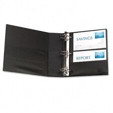 "Durable Slant Ring Reference Binder with Label Holder, 3"" Capacity"