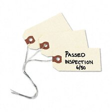 Paper/Double Wire Shipping Tags, 3 1/4 X 1 5/8 (1,000/Box)