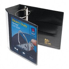 "Nonstick Heavy-Duty Ezd Reference View Binder, 5"" Capacity"