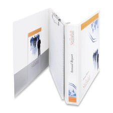 "Durable View Portfolio Binder with Clipboard, Letter Size, 1.5"" Capacity"