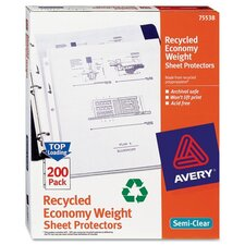 Top-Load Sheet Protector, 200/Pack