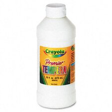 Premier Tempera Paint, White, 16 Ounces