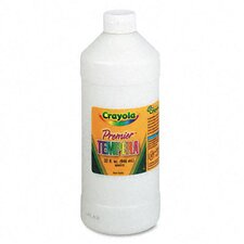 Premier Tempera Paint, White, 32 Ounces