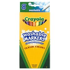 Washable Drawing Marker 8 Colors
