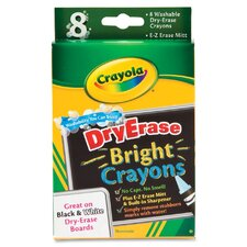 Dry Erase Crayons (Set of 8)