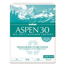 Aspen 3-Hole 30% Recycled Office Paper (5000/Carton)