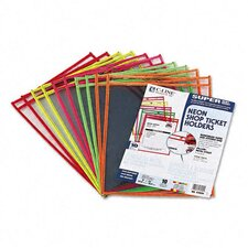Stitched Neon Shop Ticket Holder (10/Pack)