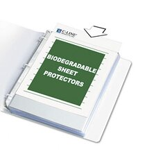 Bio Sheet Protectors with Standard Weight (10/Pack)