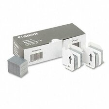 Standard Staples for Canon Ir2200/2800/More with Three Cartridges (15,000 Staples/Pack)